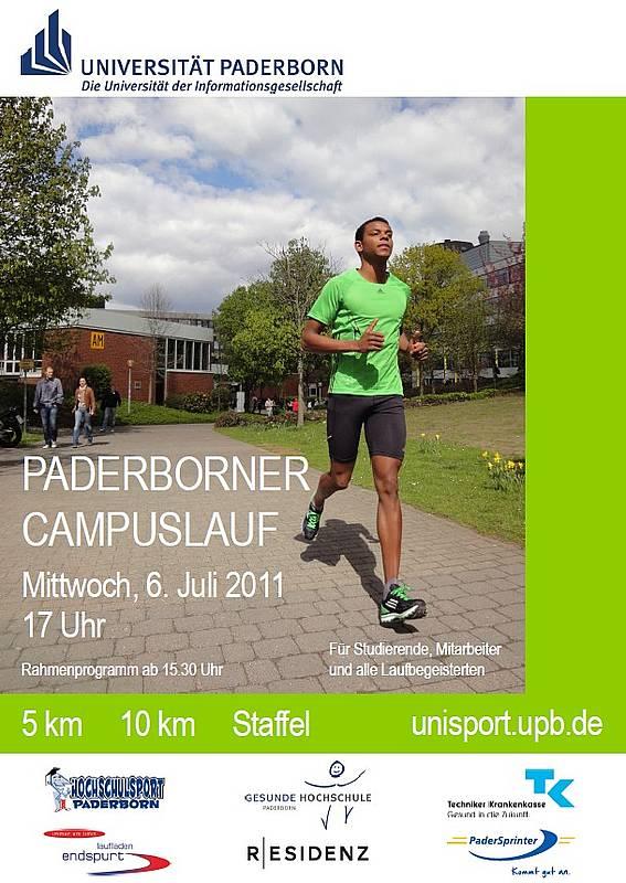 Plakat Campuslauf 2011