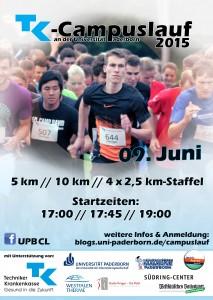Plakat Campuslauf 2015 version 3