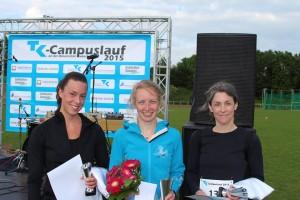 Siegerehrung Frauen 10km