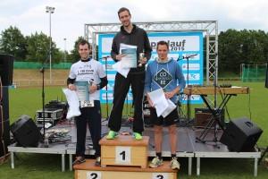 Siegerehrung Männer 5km