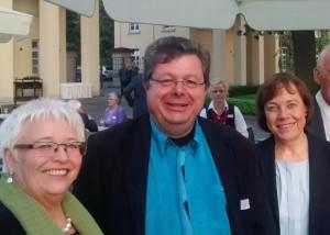 Sigrid Beer MdL, Prof. Dr. Harald Schroeter-Wittke, Präses Annette Kurschus