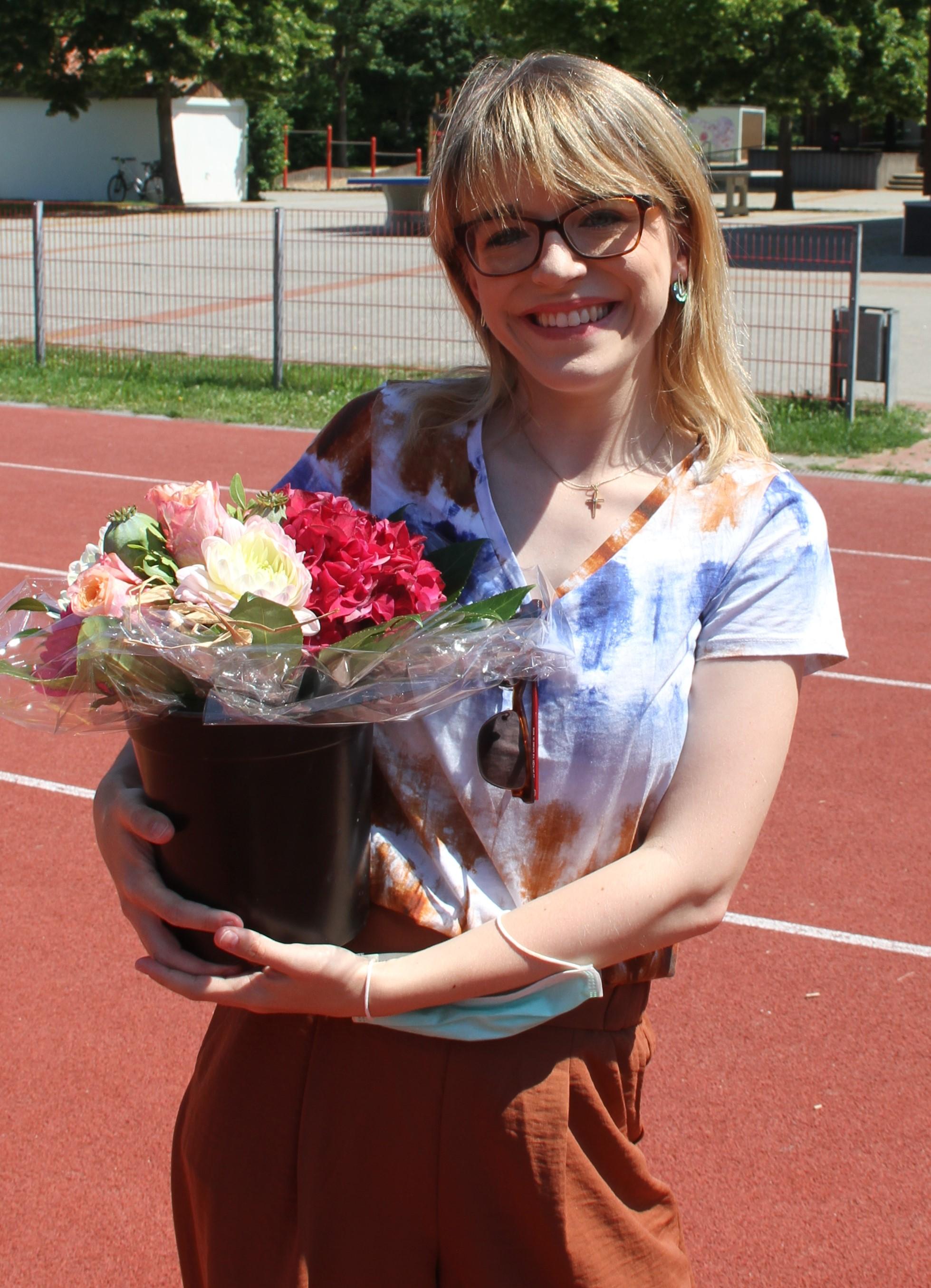 Foto der Semestersprecherin Verena Reusch